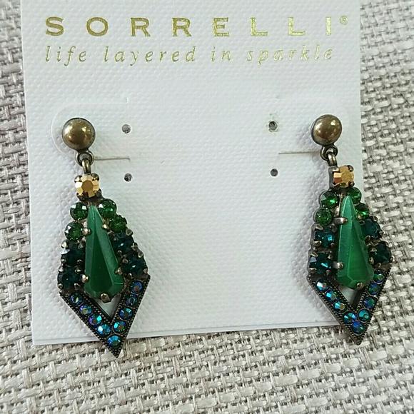 Sorrelli Jewelry - Sorrelli Earrings Green